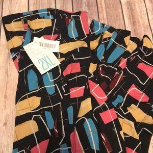 Bnwt lularoe 2XL maxi skirt